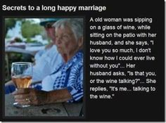 "GOOD MARRIAGE SECRETS ""DON'T ASK, DON'T TELL!!"""