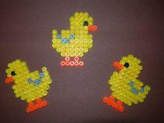 Easter chicks hama perler beads