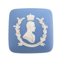 Vintage Wedgwood Pale Blue Jasper Cover Replacement Lid Prince Philips... ($14) ❤ liked on Polyvore featuring home, bed & bath, bath, bath accessories, lidded box, wedgwood, light blue bathroom accessories, vintage bathroom accessories and vintage bath accessories