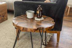This signature product line brings the beauty of responsibly sourced, live-edge wood furniture to your customers at a great price point.Indonesian teak.Mixed materials.Mid-century vibe.Live-edge.Each piece is unique and will vary in shape and size.SVLK Certified Teak from sustainably managed forests and plantations.