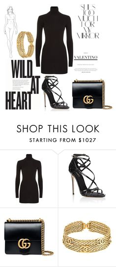 """Untitled #38"" by filippaelvira ❤ liked on Polyvore featuring Rika, Dolce&Gabbana, Gucci and Chanel"