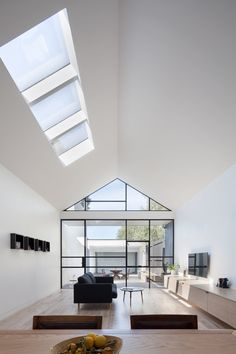 The Burnley Residential Renovation created an open plan living area which connected with the back yard on a typical inner city single fronted site.