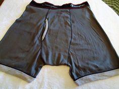 Men's  CHAMPION Boxer Underwear  Sz L (36 -38) Dark Gray  100% Cotton NWOT  #CHAMPION #BoxerBrief