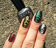 Concrete and Nail Polish: A Tribe Called Quest Nail Art!