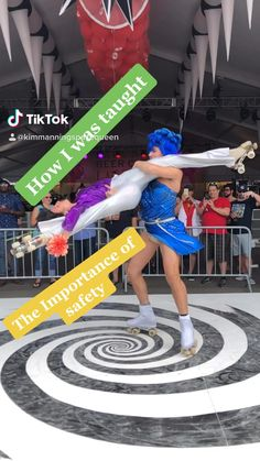 Want know the safe order of learning tricks? Download my free ebook on mywebsite and get lists if tricks, required elements for tricks, as well as practice guides! Dance Poses, Free Courses, Roller Skating, Ice Hockey, Figure Skating, Free Ebooks, Basketball Court, Learning, Tips