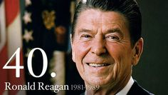 """Reagan said, """"Government is not the solution to our problem, government is the problem."""" But he doubled government spending.Hmmm."""