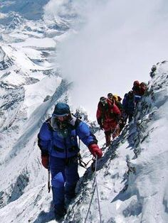 Mt. Everest Climbers