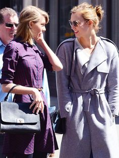 A model and a singer: Karlie Kloss and Taylor Swift are great friends! #NationalBestFriendDay