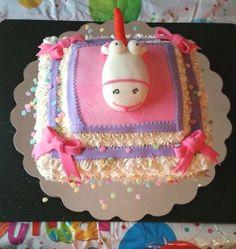 Despicable Me Fluffy Unicorn Cake