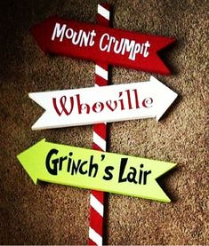 36 Whoville Grinch Christmas Yard Art Sign Decoration by WoodBeeUs. I need this with the Grinch yard cut out. Whoville Christmas Decorations, Grinch Decorations, Grinch Christmas Party, Grinch Party, Christmas Yard Art, Office Christmas Party, Christmas Signs, Christmas Projects, Christmas Themes