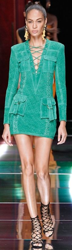 Balmain RTW Summer 2016 ~ Paris