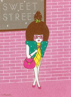 Icecream Girl / SUNAE Artist Naoshi