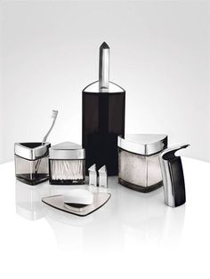 Modern Bathroom Set for Bachelor by Stelton