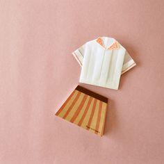 trapezoid memo shaped like an A-line skirt!