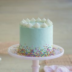 A while back I made a funfetti cake and loved it; totally reminded me of being a kid at my own birthday party LOL. It had a white chocolate ganache tinted light pink, which looked great but I heard some people found it to be a challenge. White chocolate can only be dyed with gel food coloring, which most people don't have at home. If you add 1/4 of a drop of regular food coloring it seizes and turns into a solid .  That doesn't change the flavor really but it means you definite...