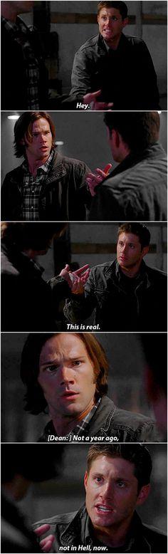 [gifset] 7x02 Hello, Cruel World #SPN #Dean #Sam