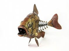 Nice steam punk fish!
