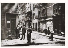 Corner of Doyers St. and Pell St. - circa 1900 - New York City