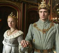 Edward IV and Elizabeth Woodville, King and Queen of England (House of York). Elizabeth Woodville, Isabel Woodville, Emma Frost, Eduardo Iv, The White Queen Starz, Anne Neville, Philippa Gregory, The White Princess, Max Irons