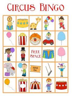 circus lesson plans for preschoolers free printable animal bingo printable preschool activity 226