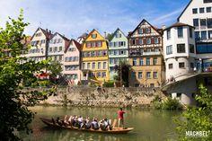 El pueblo bonito de alemania, Tübingen - machbel