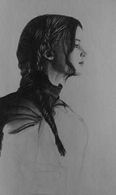 Everdeen. pencil drawing