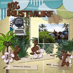 Castaway Cay - Mount Rustmore - MouseScrappers.com