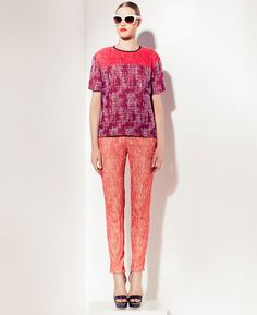 Peter Som Resort 2013 Collection Achieves Whimsically Preppy Look