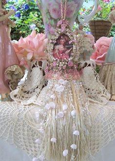 Marie Antoinette Boudoir Tassel French Inspired Heirloom/2DIE4/GORGEOUS. $24.95, via Etsy.
