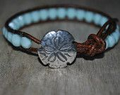 Beautiful summer bracelet from Sea Chic on Etsy
