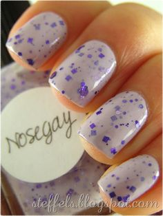 Lynnderella's nail polish - Two coats of Nosegay over Missha VL001