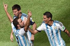 Argentina 1 - 0 Belgium. #ARG in semi final!