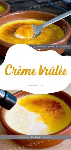 Crème brûlée Cantaloupe, Creme, Deserts, Fruit, Instructions, Food, Muffins, French Recipes, Favorite Recipes