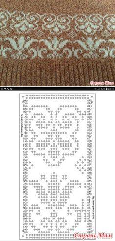 My First Job - Machine Knitting - Country Moms Knitting Paterns, Fair Isle Knitting Patterns, Knitting Charts, Knitting Stitches, Knit Patterns, Stitch Patterns, Crochet Socks Tutorial, Yarn Monsters, Norwegian Knitting