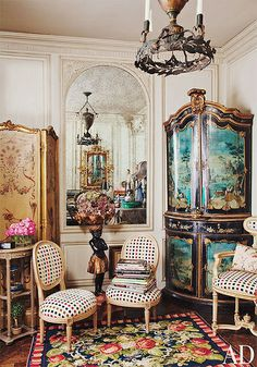 {décor | at home with : iris apfel, manhattan}