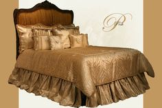 Alternate Color Background of Posh Bedset from Reilly-Chance Collections Luxury Bedding Manufacturers