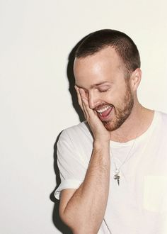 Aaron Paul. He is like the cutest bad boy in the world
