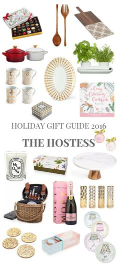 Holiday Gift Guide 2016 for the Hostess // Shoegal Out In The World