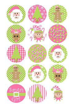 Pink Preppy Lilly Lover christmas printable #LillyHoliday
