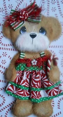 Christmas Candy Cane Boutique Tear Bear Paper Piecing Scrapbook 3PAPERWISHES   eBay
