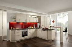 Image result for black extractor fan kitchen red splashback