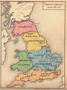 Roman Britain Dark Age History: The Core Battles of Arthur Dux Bellorum in Flavia . Uk History, Roman History, European History, British History, History Facts, Map Of Britain, Roman Britain, Great Britain, Ancient Rome