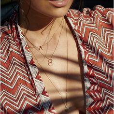 Anna Nooshin Wishbone Necklace Goldplated or 14K Gold - ANNA NINA