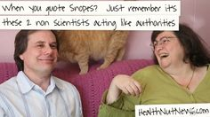 Snopes.com is not an authority on myths, etc. Don't count on it to give you the right answers.