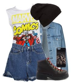 """""""Untitled #79"""" by didoka on Polyvore featuring Marvel Comics and American Eagle Outfitters"""