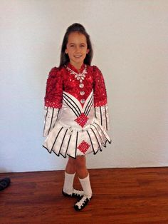 This Solo Champion Dress was made by Siopa Rince in Ireland. We are the original owners and the dress is only 3 years old. It has been worn less than 8 tim