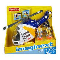 Fisher-Price Imaginext Helicopter Rescue Play Set