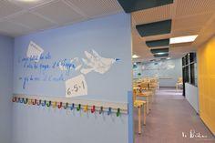 Décoration de murs intérieurs pour le Centre de Loisirs Pierre Brossolette à Argenteuil