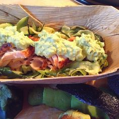BONNAPPETIET: Courgette linten met zalm en avocado