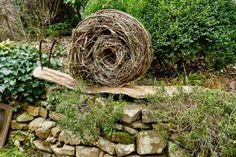 Riesenschnecke aus Naturmaterial - Karin Urban - NaturalSTyle
